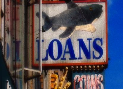 Loan Shark Sign