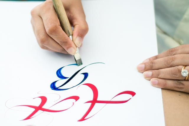 Start a calligraphy business a side job for creatives Calligraphy as a career